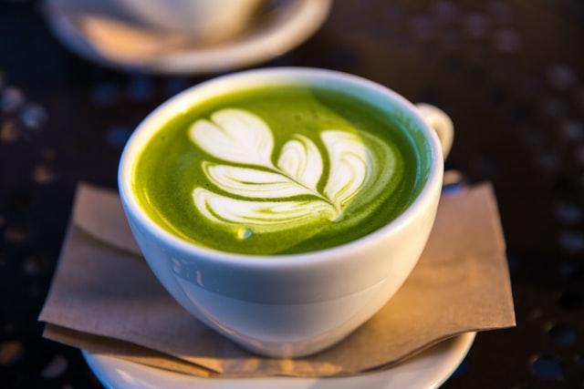 Café verde-Latte art