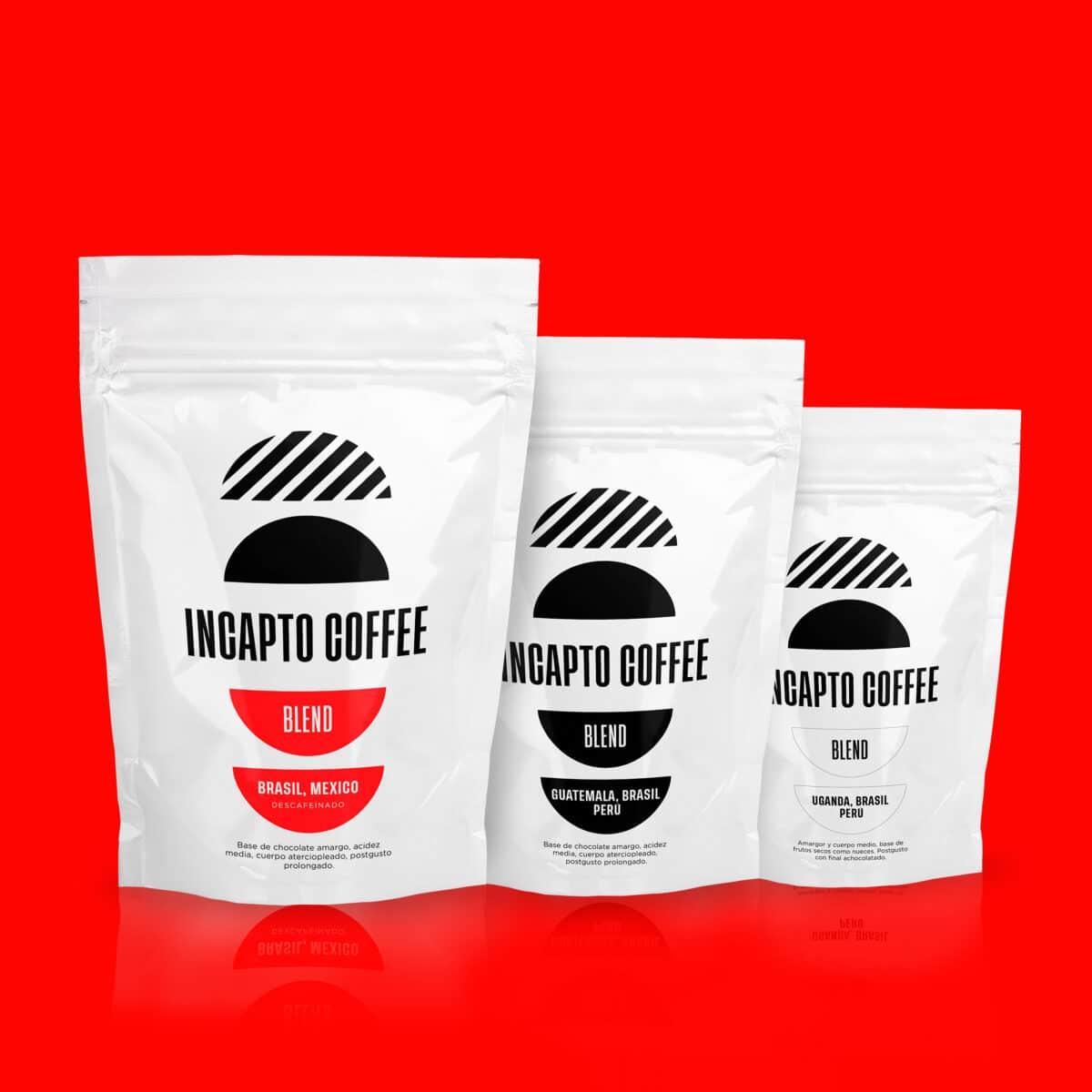Pack Degustación café en grano Blend