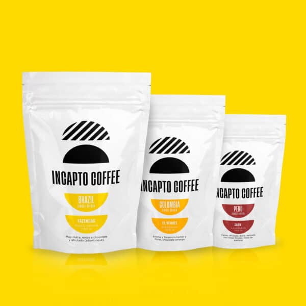 Pack Degustación café en grano Sudamerica