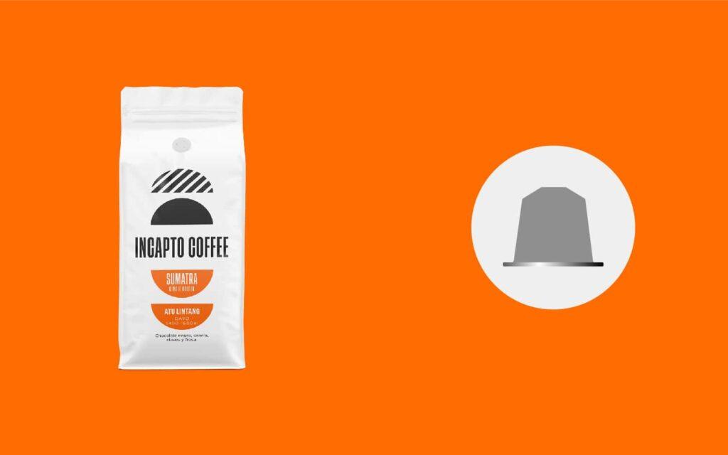 Equilavencia cápsulas café de Sumatra