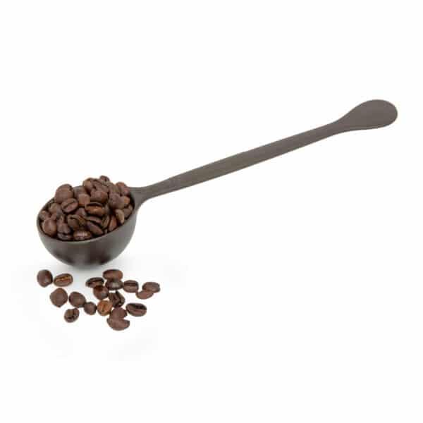 Cuchara medidora de café en grano