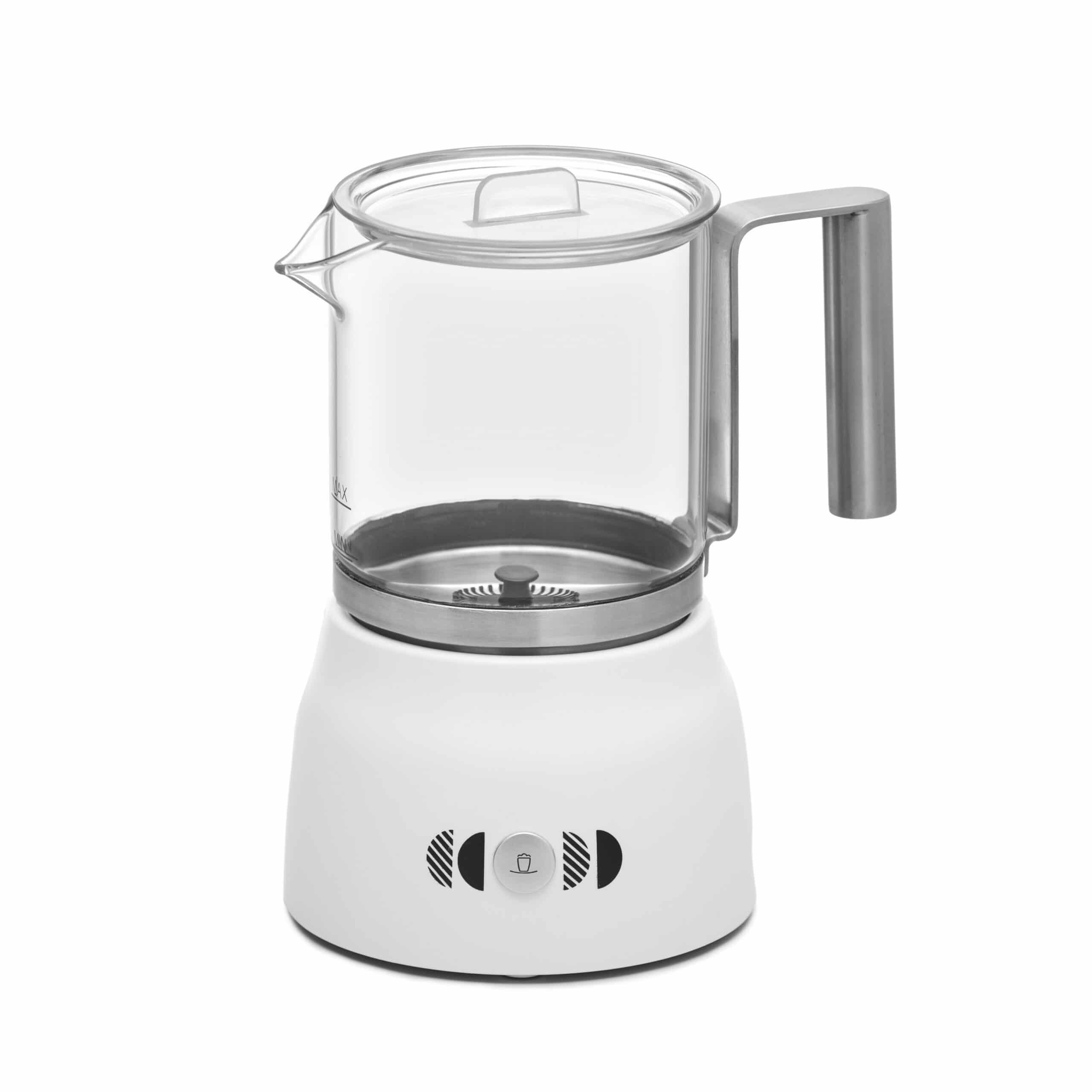 Capuccinador, Espumador, Vaporizador para leche Incapto Coffee color blanco