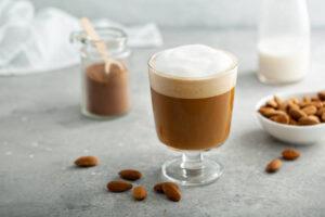 Latte con leche de almendras
