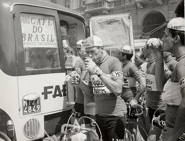 Ciclistas-café