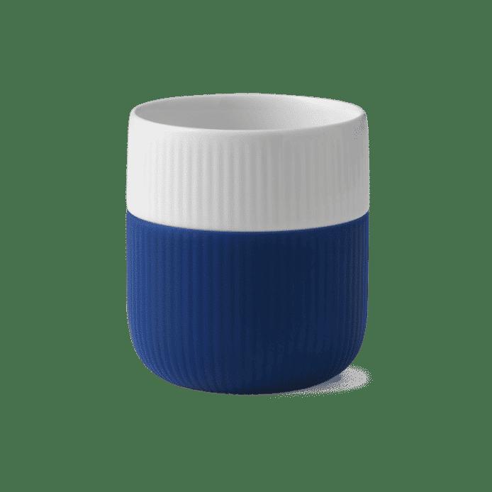 Tasse pour latte en porcelaine et silicone